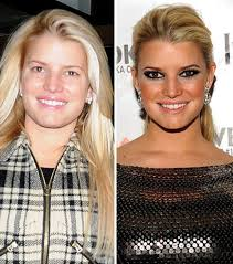 stars without makeup january 5 2010 jessica simpson