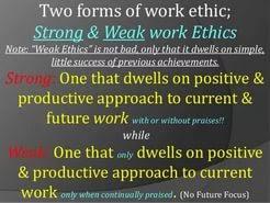 essay work ethic  essay work ethic