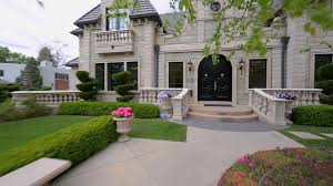 Image Story Front Of French Provincial Home With Grand Entry And Circualr Flower Garden Designing Idea French Provincial House Design french Country Style Designing Idea