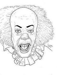 Pennywise Cane Coloring Pages Coloring Sheets The Clown 84 Get