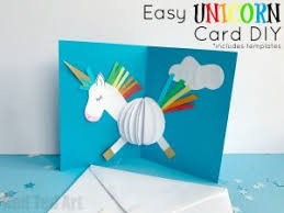 similarly we had fun with paper baubles for these lovely 3d unicorn pop up cards includes free templates but also teaches you to make your own from