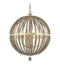 capital lighting 4796tz lowell 6 light 24 inch tuscan bronze with wood beads pendant ceiling light