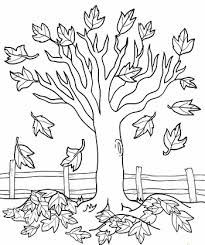 Small Picture fall tree coloring page out magazine autumn trees and coloring