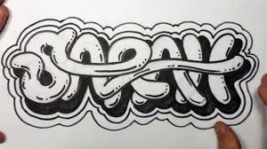 Cool Ways To Write Your Name In Graffiti How To Draw Graffiti