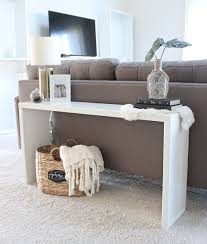 Sofa Table Diy Rustic Diy Sofa Table With Dipped Legs Do It Yourself