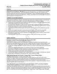 Quality Control Inspector Resume Resume Quality Control Inspector Resume Sample 9