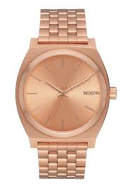 time teller men s watches nixon watches and premium accessories time teller all rose gold