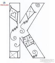 7d62662f3c1952dc70ec003aa4257eac alphabet quilt alphabet stencils letter k coloring page alphabet worksheets, coloring and letter k on teaching alphabet letters to pre k children printable