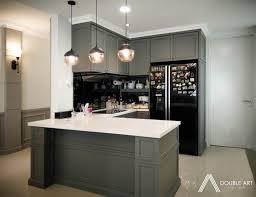 condo kitchen designs. Plain Condo Dry Kitchen Design For Condominium In Taman OUG Project By Double Art  Design Studio Intended Condo Kitchen Designs