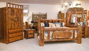 Interesting Decoration Log Home Furniture Peachy Ideas Beds Rustic