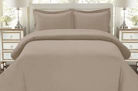 com 1500 thread count egyptian quality duvet cover set king taupe home kitchen