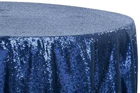 round navy blue plastic tablecloths navy blue tablecloths glitz sequins round tablecloth navy blue
