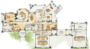 Plan 15662GE BestSeller With Many Options  Inspiration House Luxury Mountain Home Floor Plans