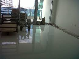 decoration glass floor tile with white glass tile flooring large white glass tile floors