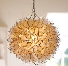 Image Diy Capiz View Along The Way How To Make Diy Hanging Capiz Shell Pendant Chandelier