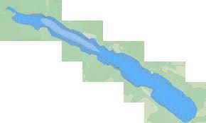 Battle Lake Fishing Map Ca_ab_battle_lake Nautical