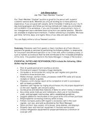 24 Elegant Walmart Cashier Job Description For Resume Iharvokse Com
