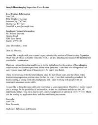 Sample Housekeeper Cover Letter 18 Hotel Housekeeping Resume