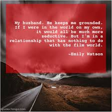 Emily Watson Quote Chimps