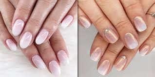 Omber Nail Design Baby Boomer Nails Are The Modern French Manicure