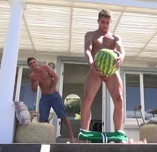 Anal sex gay watermelon