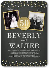 50th Anniversary Party Invitations 50th Wedding Anniversary Party Ideas Shutterfly