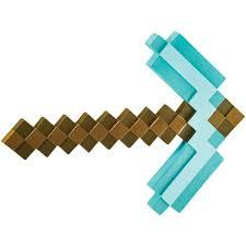 Minecraft Diamond Pickaxe Accessory