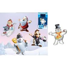 frosty the snowman characters. Modren Characters Frosty The Snowman 5 Piece ClipOn Hanging PVC Figurines  Ornaments  Classic Inside The Characters A