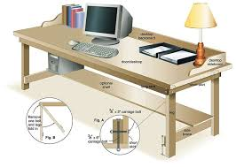 Diagram of Completed Desk