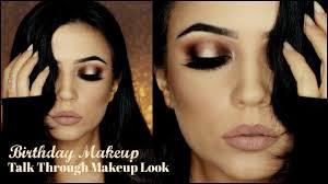 birthday makeup tutorial halo dramatic makeup themakeupchair