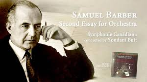 samuel barber second essay for orchestra