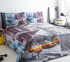 new york city duvet cover set
