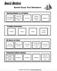 what is a kernel essay trail of breadcrumbs text structures for social studies