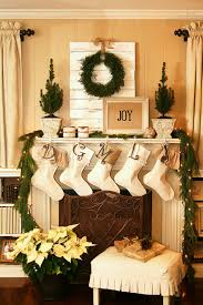 Of Living Rooms Decorated For Christmas Endearing Home Christmas Fireplace Design Ideas Complete