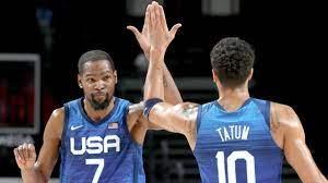 USA vs Australia Basketball Semi-Final ...
