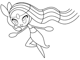 Small Picture Meloetta coloring page Free Printable Coloring Pages