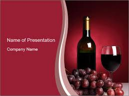 Wine Powerpoint Template Testing Red Wine Powerpoint Template Backgrounds Google Slides
