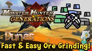 Monster Hunter Generations Light Crystal Monster Hunter Generations Mining Guide Dunes How To Get Fast And Easy Ores Early