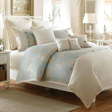 bed bath and beyond duvet covers coastal life seashell duvet cover cotton bed bath beyond bed
