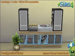 Punk Rock Bedroom Loud Fast Clash Bedroom Designs For Sims