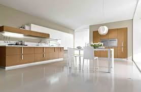 White Floor Kitchen Single Kitchen Cabinet Attractive Natural Cherry Kitchen Cabinet