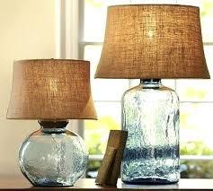 glass table lamp base light blue for the home bases australia