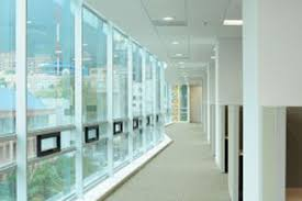office glass windows. Office Buildings Save Energy While Adding Comfort And Privacy To Any Commercial Space. InvisiShade Can Be Installed On Windows, Internal Partitions, Doors, Glass Windows E