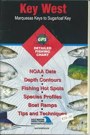 Key West Fishing Season Chart Amazon Com Saltwater Directions Map Number Fl0101 Key West
