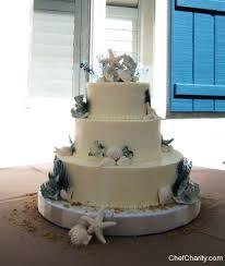 Wedding Cakes Elegant Chef Charity