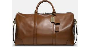 Lyst - Coach Bleecker Cabin Bag In Leather in Brown for Men