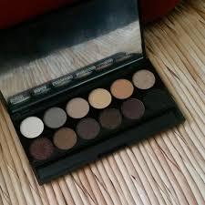 sleek makeup i divine mineral eyeshadow palette au naturel