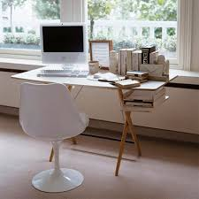 gallery small home office white. Small Home Office Decor Interior Design Ideas With Table And Chair Plus Books For Gallery White E