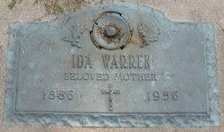 Ida Pelroy Warren (1886-1956) - Find A Grave Memorial