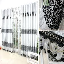 Large Size Of Curtain Designs Black And White Bedroom Curtains Ideas ...